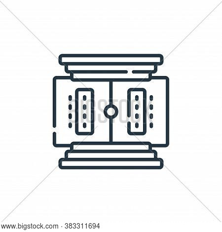 stadium icon isolated on white background from esports collection. stadium icon trendy and modern st
