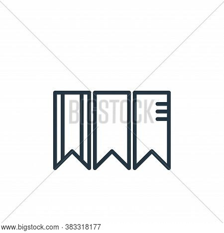 bookmark icon isolated on white background from social media collection. bookmark icon trendy and mo