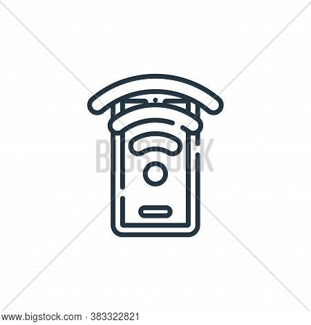 wifi icon isolated on white background from public services collection. wifi icon trendy and modern