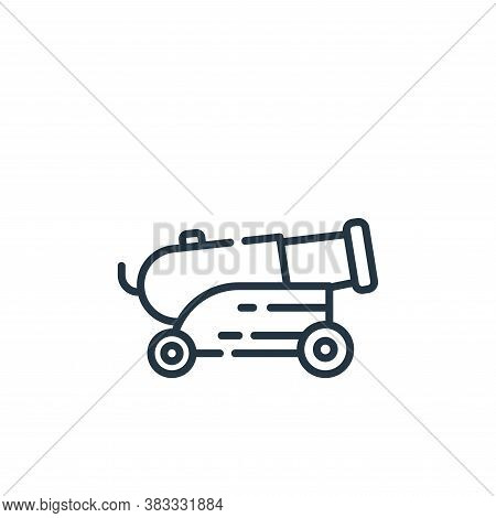 cannon icon isolated on white background from museum collection. cannon icon trendy and modern canno