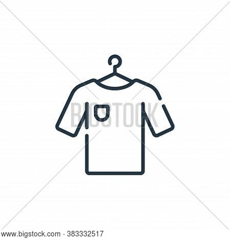t shirt icon isolated on white background from supermarket collection. t shirt icon trendy and moder