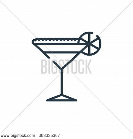 cocktail icon isolated on white background from party and celebration collection. cocktail icon tren