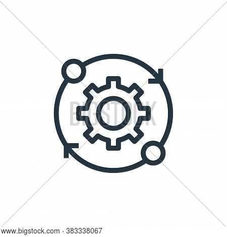 working icon isolated on white background from marketing seo business collection. working icon trend