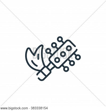hair brush icon isolated on white background from barber shop collection. hair brush icon trendy and