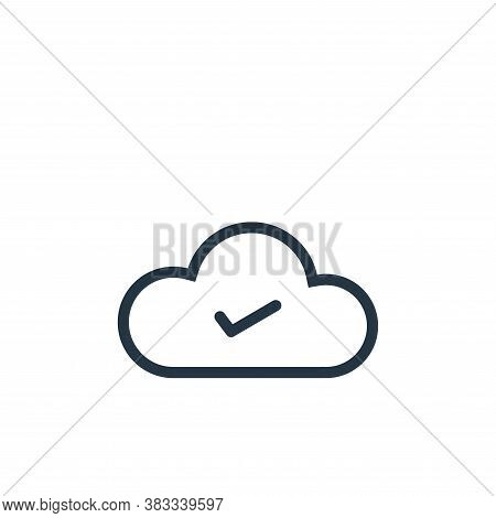 complete icon isolated on white background from ui collection. complete icon trendy and modern compl