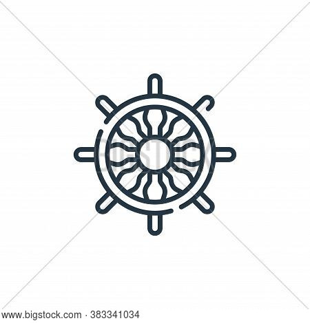 navigation icon isolated on white background from location collection. navigation icon trendy and mo