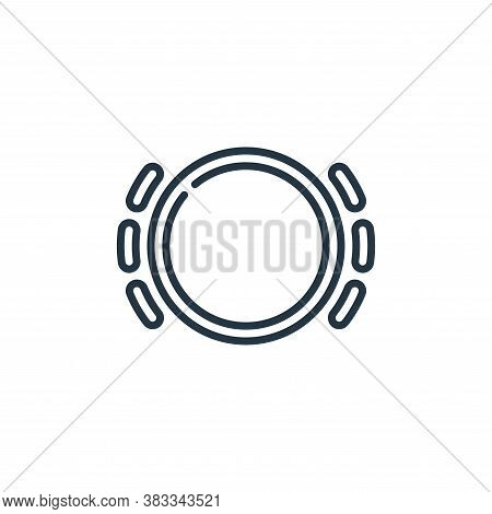 brake icon isolated on white background from car engine collection. brake icon trendy and modern bra
