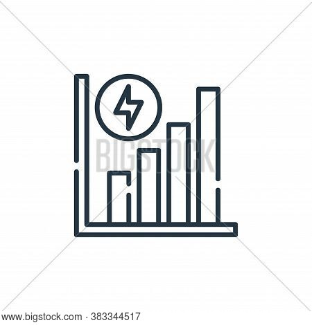 energy icon isolated on white background from sustainable energy collection. energy icon trendy and