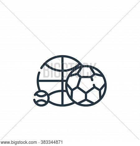sport icon isolated on white background from education collection. sport icon trendy and modern spor
