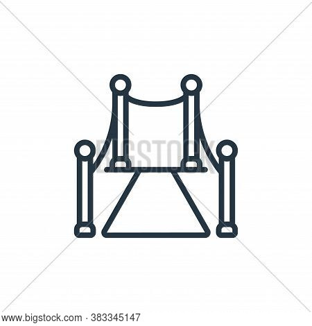 red carpet icon isolated on white background from event management collection. red carpet icon trend