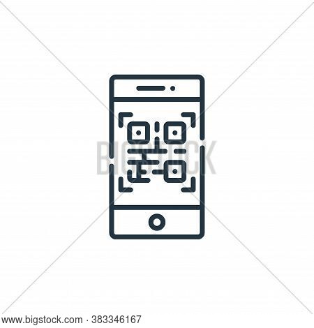 smartphone icon isolated on white background from museum collection. smartphone icon trendy and mode