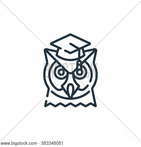 wisdom icon isolated on white background from education collection. wisdom icon trendy and modern wi