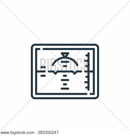 flight icon isolated on white background from aviation collection. flight icon trendy and modern fli