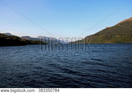 Loch Lomond Scotland From A Scenic Viewpoint