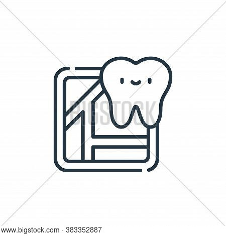 location icon isolated on white background from dentist collection. location icon trendy and modern