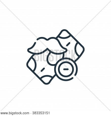 money icon isolated on white background from barber shop collection. money icon trendy and modern mo