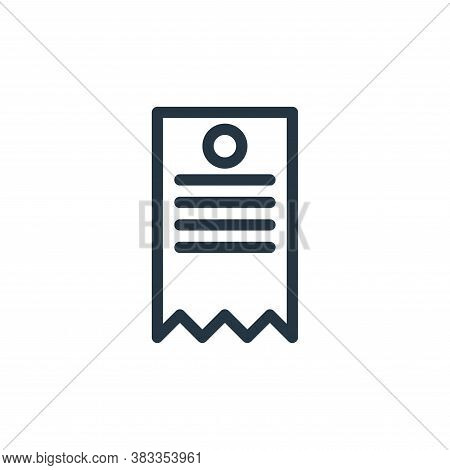 tag icon isolated on white background from business collection. tag icon trendy and modern tag symbo