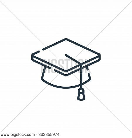 college icon isolated on white background from education collection. college icon trendy and modern