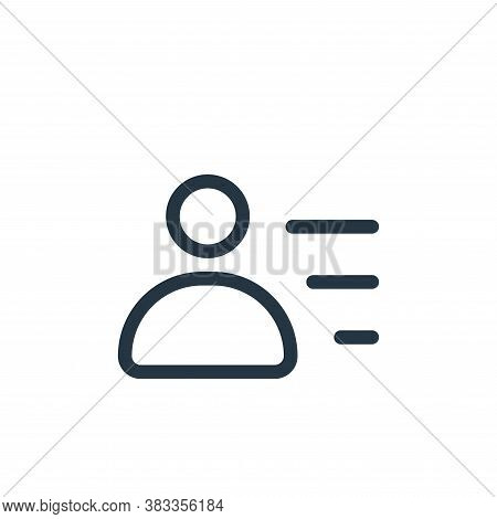user icon isolated on white background from business collection. user icon trendy and modern user sy