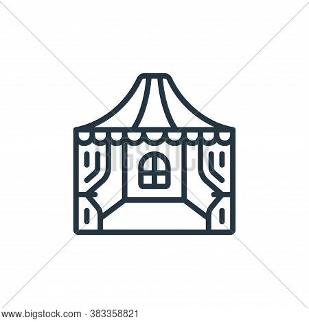 marquee icon isolated on white background from event management collection. marquee icon trendy and