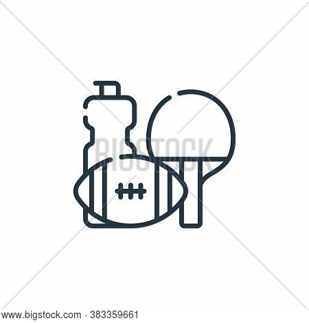 sport icon isolated on white background from supermarket collection. sport icon trendy and modern sp