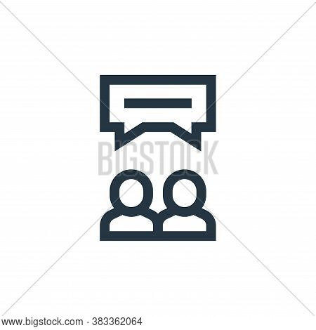 reviews icon isolated on white background from customer reviews collection. reviews icon trendy and