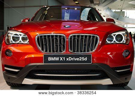 BMW X1 xDrive25d closeup