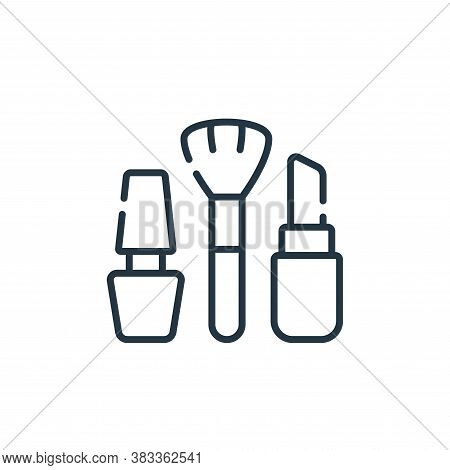 cosmetics icon isolated on white background from supermarket collection. cosmetics icon trendy and m