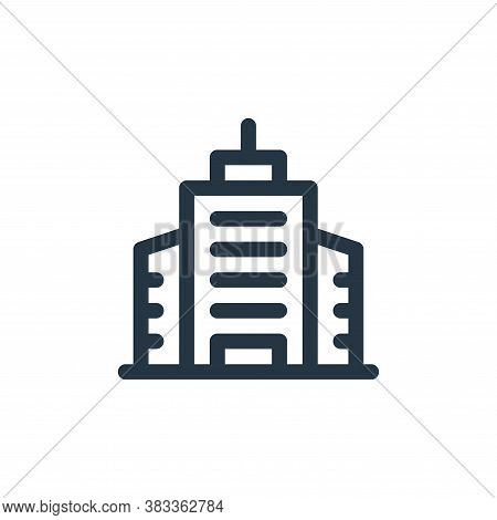 building icon isolated on white background from investment collection. building icon trendy and mode