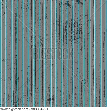 Aqua And Gray Stripes Pattern In 12x12 Design Element, Page Element And Backgrounds.