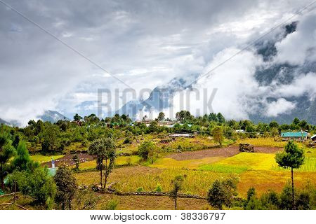 Scenic View Of The Himalaya Mountains