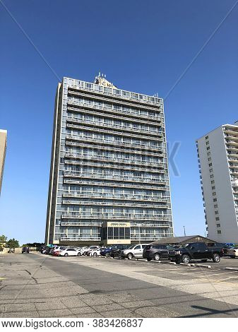 Ocean City, Md: Century One Condominium Oceanfront Building Located On 99th Street And Coastal Highw
