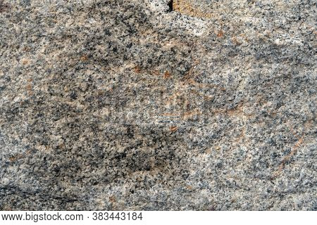 Natural Texture Background Grey Untreated Granite Outdoor