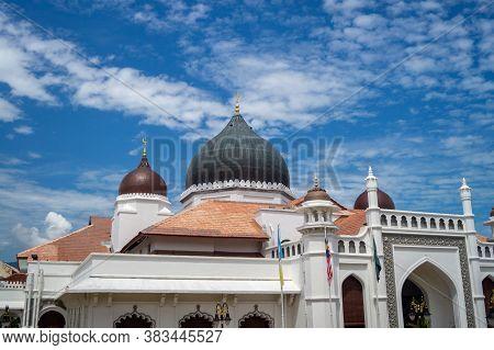 Georgetown, Penang/malaysia - Feb 14 2020: Kapitan Keling Mosque.
