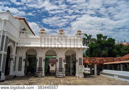 Georgetown, Penang/malaysia - Feb 14 2020: Kapitan Keling Mosque