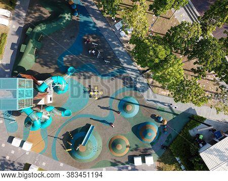 Georgetown, Penang/malaysia - Feb 29 2020: Popular Sia Boey Playground.