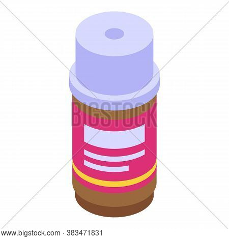 Cosmetic Essential Oils Icon. Isometric Of Cosmetic Essential Oils Vector Icon For Web Design Isolat