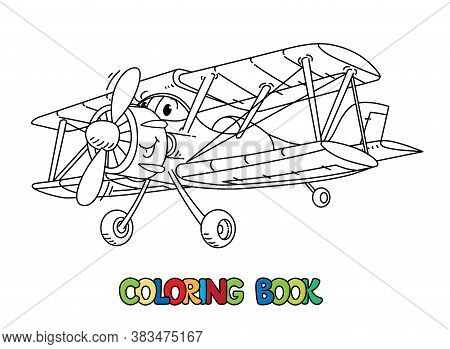 - Funny Biplane Eyes. Vector & Photo (Free Trial) Bigstock