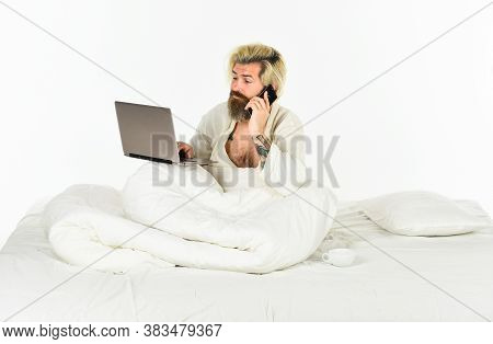 Online Communication. Work From Home. Hipster Work Laptop. Remote Job. Shopping Online. Electronic D