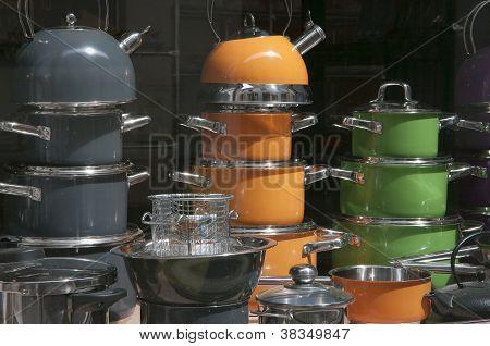 Hausehold Appliances Shop Window