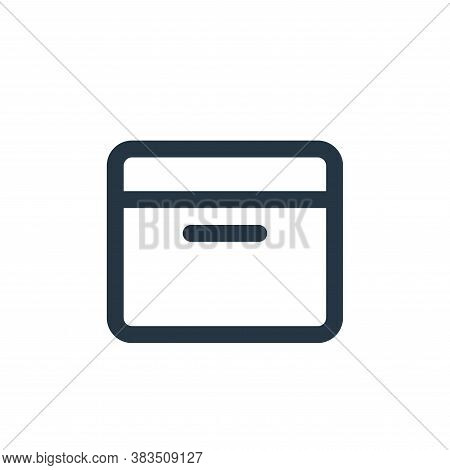 archive icon isolated on white background from email ui collection. archive icon trendy and modern a