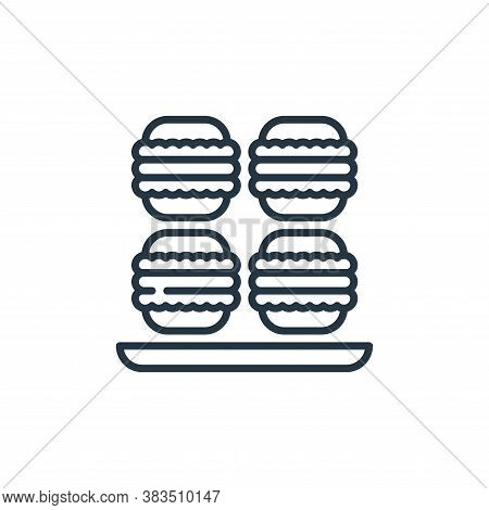 macaron icon isolated on white background from celebration collection. macaron icon trendy and moder
