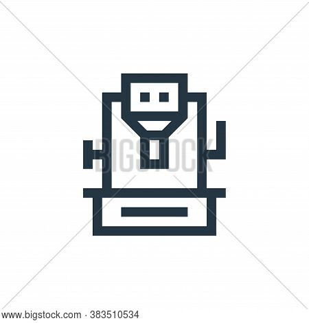 grinder icon isolated on white background from machinery collection. grinder icon trendy and modern