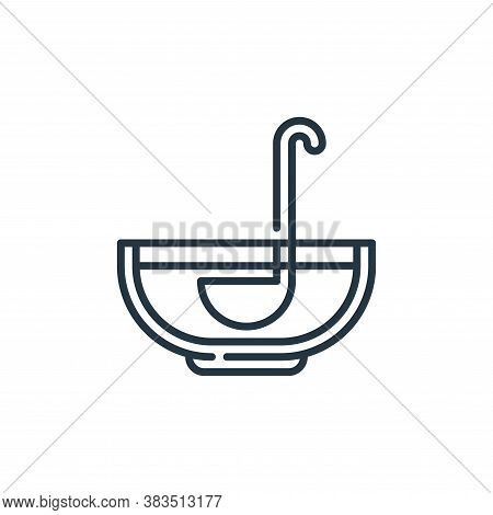 punch icon isolated on white background from celebration collection. punch icon trendy and modern pu