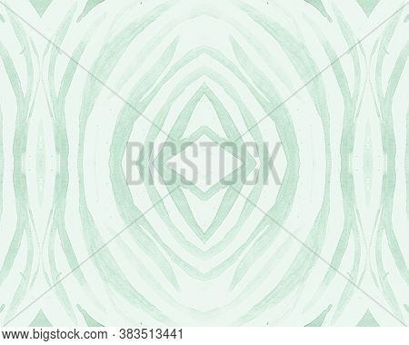 Green Seamless Animal Pattern. Fashion Africa Background. Wild Jungle Print. Camouflage Stripes Repe