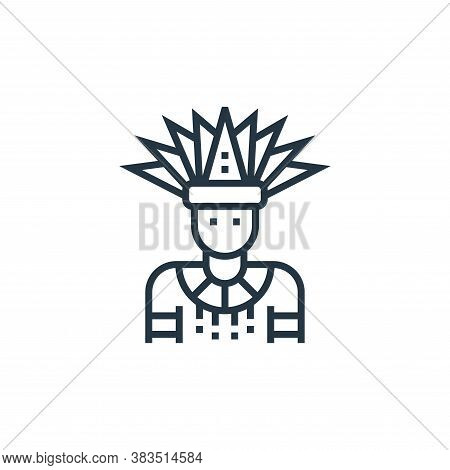 dancer icon isolated on white background from brazilian carnival collection. dancer icon trendy and