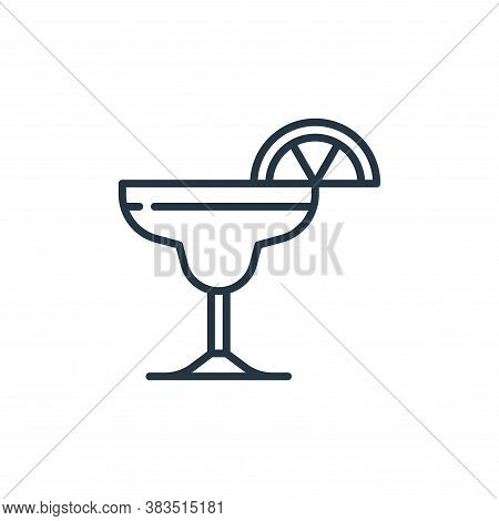 margarita icon isolated on white background from cinco de mayo collection. margarita icon trendy and