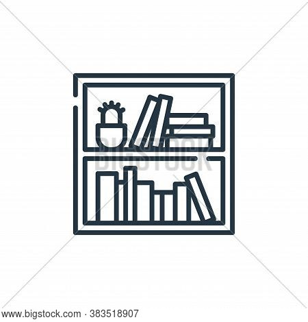 books icon isolated on white background from books and literature collection. books icon trendy and
