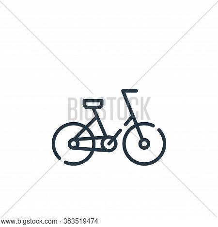 bike icon isolated on white background from mother earth day collection. bike icon trendy and modern