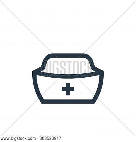 hat icon isolated on white background from nursing collection. hat icon trendy and modern hat symbol